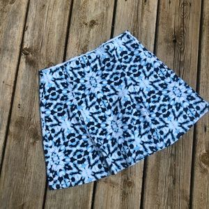 Abercrombie skirt blue and white size XL 16